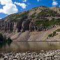 Morat Lake in Naturalist Basin.- Naturalist Basin Hike