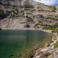 Blue Lake and Mount Aggassiz.  - Naturalist Basin Hike