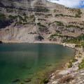 Blue Lake and Mount Aggassiz.  - Naturalist Basin Hike