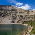 Mount Agassiz and Blue Lake.  - Mount Agassiz Hike