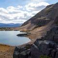 Blue Lake.  - Mount Agassiz Hike
