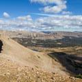 Upper end of Naturalist Basin.  - Mount Agassiz Hike