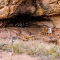 This old cowboy camp is in Canyonlands National Park, a short trip from Indian Creek.- Indian Creek Corridor