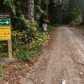 Entrance to Sloquet Hot Springs.- Sloquet Hot Springs