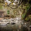 Sloqet Hot Springs.- Sloquet Hot Springs