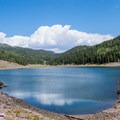 Puffer Lake is a nearby day use area with fishing opportunities.- Big Flat Dispersed Camping Area