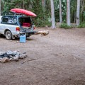 You won't have any trouble finding a spot to yourself.- Big Flat Dispersed Camping Area