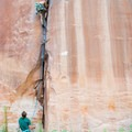 Trad climbing is the main attraction at Potash, but there is a good variety of sport climbs as well- Potash Road Rock Climbing
