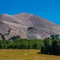 Another angle on Mount Peale.- Burlfriends Trail Hike