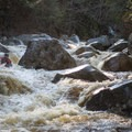 This is what most of the Sawyer River run looks like.- Sawyer River