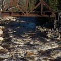 The last rapid on the Sawyer River run.- Sawyer River