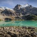 Upper Joffre Lake.- Joffre Lakes Hike