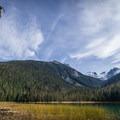 Lower Joffre Lake.- Joffre Lakes Hike