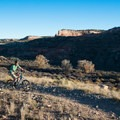 The trails here have easy spots to cruise through.- Kokopelli Loops Mountain Bike Trails: Rustler's Loop