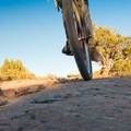Smooth sections of slickrock are all over.- Kokopelli Loops Mountain Bike Trails: Rustler's Loop