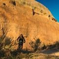 Sunset at the Rustler's Loop.- Kokopelli Loops Mountain Bike Trails: Rustler's Loop