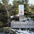 The summit hosts arctic-alpine vegetation that is very fragile. Walk only on the rocks.- Maple Ridge + Butler Lodge Loop