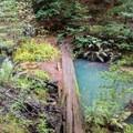Opal Creek in Big Basin State Park.- Skyline-to-the-Sea Hike: Saratoga Gap to Big Basin Headquarters