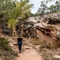 Ladder Canyon.- Mica Mine Trail Hike