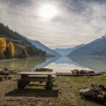 Driftwood Bay.- Lillooet Lake Campgrounds