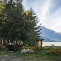 Twin One Campground.- Lillooet Lake Campgrounds