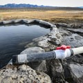 Water temperature can be controlled using a valve on a pipe from the spring's source.- Shepherd Hot Spring