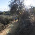 Temescal Ridge Trail.- Temescal Ridge Trail Hike