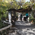 The Trails Cafe at the East Observatory Trail Trailhead.- Griffith Observatory Hike via East Observatory Trail