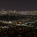 View of downtown Los Angeles from Griffith Observatory.- Griffith Observatory