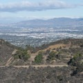 View north to the San Fernando Valley from Mount Hollywood.- Mount Hollywood Hike via Charlie Turner Trail