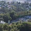 Hollywood Bowl from the Jerome Daniel Overlook.- Mulholland Drive, Jerome Daniel Overlook