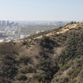 View west to Century City and Santa Monica from Runyon Canyon Park.- Runyon Canyon Park