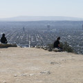 Cloud's Rest Overlook, Runyon Canyon Park.- Runyon Canyon Road Hike