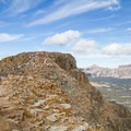 Approaching the summit.  - Bald Mountain via Bald Mountain Pass