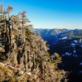 View from the scramble to the top.- McClellan Butte