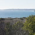 View west toward Point Dume from Malibu Bluffs Park.- Malibu Bluffs Park