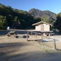 ADA-accessible campsite at Malibu Creek State Park Campground.- Malibu Creek State Park Campground