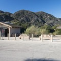 Restroom facilities at the parking area and trailhead.- Rock Pool Swimming Hole