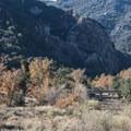 View of Malibu Creek, Malibu Creek State Park.- Rock Pool Swimming Hole