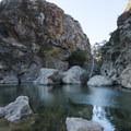 Rock Pool swimming hole, Malibu Creek State Park.- Rock Pool Swimming Hole