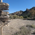 M*A*S*H site, Malibu Creek State Park.- M*A*S*H TV Set Hike