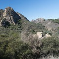 View of Goat Buttes from the Chaparral Trail.- Chaparral Trail Loop Hike
