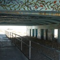 Bridge pedestrian underpass at Leo Carrillo State Beach.- Leo Carrillo State Beach