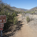 Trailhead for the Nicholas Flat Trail and Willow Creek Trail.- Nicholas Flat to Willow Creek Loop Hike