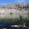 Cuberant Lake.  - Lofty Lake Loop Hike
