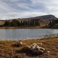 Lofty Lake.  - Lofty Lake Loop Hike