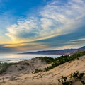Late afternoon on the dunes at Jalama Beach.- Jalama Beach