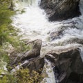 There are many tiers and channels on Big Falls.- Big Falls State Park