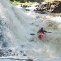 The first rapid on Brokeback Gorge.- Brokeback Gorge Kayaking