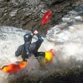 Many small chutes separate larger rapids on Brokeback Gorge.- Brokeback Gorge Kayaking